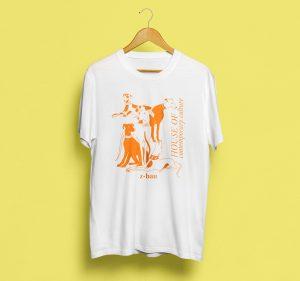 "Eva Wünsch // Shirt ""Z-Wau"" - Orange"